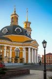 Kerk op het Poshtova-Vierkant in Kiev Royalty-vrije Stock Fotografie