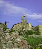 Kerk op heuvel Royalty-vrije Stock Fotografie