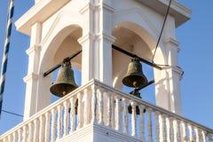 Kerk op Santorini Royalty-vrije Stock Afbeeldingen