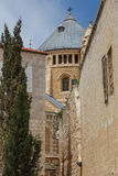 Kerk in Oud Jeruzalem royalty-vrije stock afbeeldingen