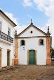 Kerk in Paraty, staat Rio de Janeiro, Brazilië Royalty-vrije Stock Fotografie