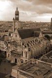 Kerk in Parijs Stock Foto
