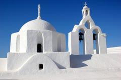 Kerk in paros Stock Fotografie