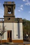 Kerk in Patagonië Stock Afbeeldingen