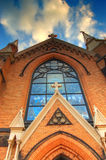 Kerk in Pittsburgh Stock Foto