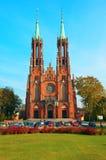 Kerk in Polen Stock Fotografie