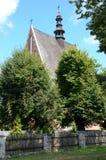 Kerk in Polen (Szydlow) Royalty-vrije Stock Afbeeldingen