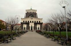 Kerk in Praag royalty-vrije stock afbeelding