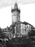 Kerk in Praag Royalty-vrije Stock Fotografie