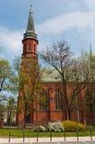 Kerk in Pruszkow - Polen Royalty-vrije Stock Foto's