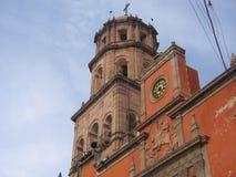 Kerk Queretaro, Mexico Royalty-vrije Stock Foto