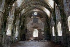 Kerk in riuns Stock Afbeeldingen