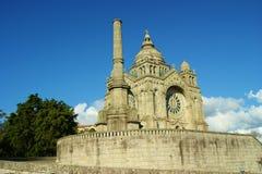 Kerk: romanesque, gotische en byzantijnse stijl Stock Afbeeldingen