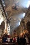 Kerk, Rome Royalty-vrije Stock Fotografie