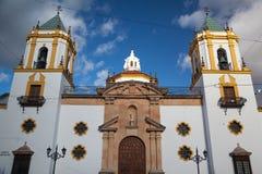 Kerk in Ronda royalty-vrije stock foto's