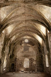 Kerk in ruïnes Royalty-vrije Stock Fotografie
