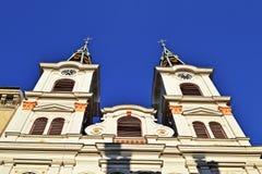 Kerk in Rudolfsheim, Wien Stock Afbeelding