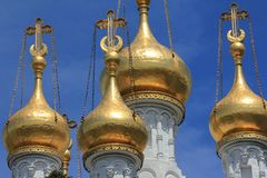 Kerk Rus, Genève, Zwitserland Stock Afbeelding