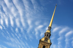 Kerk in Rusland Royalty-vrije Stock Foto's