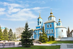 Kerk in Rusland Stock Afbeeldingen