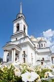 Kerk Rusland Stock Foto