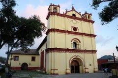 Kerk in San Cristobal DE las Casas Stock Afbeelding