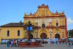 Kerk San Cristobal DE las Casas Chiapas Mexico royalty-vrije stock afbeeldingen