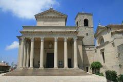 Kerk in San-Marino Royalty-vrije Stock Afbeeldingen
