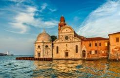 Kerk San Michele in Isola Venetië Italië stock afbeelding