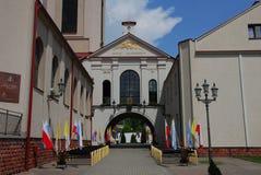 Kerk, Sanktuarium Matki Boskiej Ostrobramskiej Stock Foto's