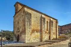 Kerk Santa Maria, Estella, Spanje royalty-vrije stock foto