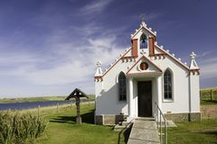 Kerk in Schotland Stock Foto