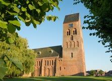 Kerk in Sedum in Eveninglight Royalty-vrije Stock Foto
