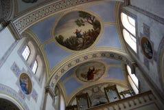 Kerk in Servi? royalty-vrije stock afbeeldingen