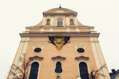 kerk in Slechte Ischl stock foto