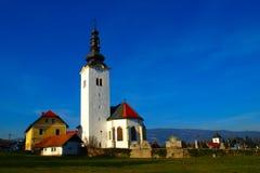 Kerk in Slivnica, Slovenië Stock Foto