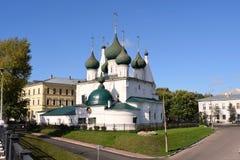 Kerk Spasa op de Stad stock afbeelding