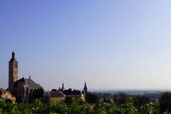Kerk st Jacob en blauwe hemel royalty-vrije stock afbeelding