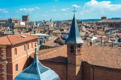 Kerk St Jerome in Toulouse, Frankrijk Royalty-vrije Stock Fotografie