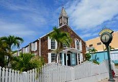 Kerk in St Maarten Stock Foto's
