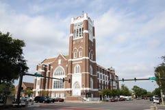Kerk in St. Petersburg, Florida Royalty-vrije Stock Foto's