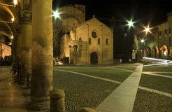 Kerk St. Stefano, Bologna, Italië Stock Fotografie