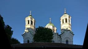 Kerk StNikolai Stara Zagora, Bulgarije Royalty-vrije Stock Foto's