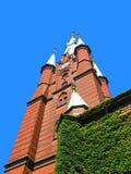 Kerk in Stockholm, Zweden Royalty-vrije Stock Foto