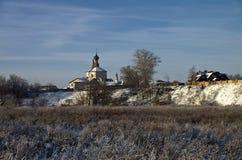 Kerk in Suzdal, Rusland. Royalty-vrije Stock Afbeeldingen