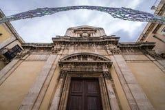 Kerk in Syracuse royalty-vrije stock afbeeldingen
