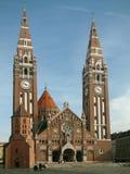 Kerk in Szeged Stock Foto