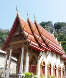 Kerk in Tempel royalty-vrije stock afbeelding