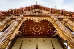 Kerk in tempel, Thailand Stock Foto