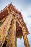 Kerk in tempel, Thailand Royalty-vrije Stock Foto